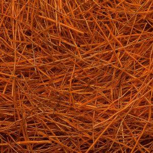 dubbing de chevreuil orange